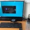 富士通 27型ワイド デスクトップパソコン 〈ESPRIMO WF2/C3〉 を使ってみた印象。