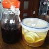 自分で作る♪ブルーベリー酢とハチミツレモン