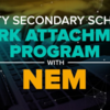 Beatty 中等学校のNEMとの共同ワークアタッチメントプログラム
