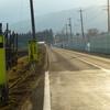 福島市の県道フルーツラインの危険個所を視察。