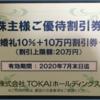 「優待」来ました(*´ω`) TOKAIホールディングス