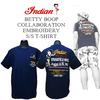 インディアンモトサイクル【INDIANMOTOCYCLE 】 × BETTYBOOP【ベティーブープ】 × 限定Tシャツ