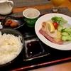 キタノホテル二日目の朝食。焼き鮭の美味しさに感動。ニューヨーク「キタノホテル・Jazz at Kitano」