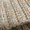 【かぎ針で編むスヌード】中長編みのうね編みで編むスヌードを作ってみました