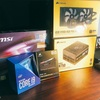 CPU届きました!自作PC作っていきます!今回使うPC部品一覧です!#5