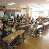 授業参観① 1年生1時間目 算数・国語