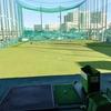 ゴルフの練習からのガストでモーニング(小倉トースト)