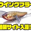 【メガバス】人気のLBOⅡ搭載の小型羽根モノ「iウイングフライ」通販サイト入荷!