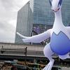 ルギア――守護者か、破壊者か。【ポケモンGOAR写真】渋谷スクランブルスクエア前にて