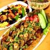 黒はんぺんカレー&オイルサーディンと自然薯のグラタン