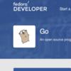 fedora30 Go言語をインストールして、Linuxから「Windowsで動くexe」を作ってみる