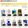 拙書評7作品がトップ10入り! 本が好き!書評PVランキング(3/20-3/26)