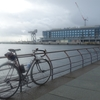 梅雨明け瀬戸際の横浜新港ポタ