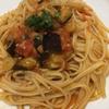 茄子とトマトのパスタ☆スパゲティ?リングイネ?☆