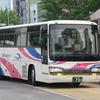 名古屋駅に来る西日本JRバスのセレガR