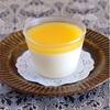 レアチーズ オレンジのソース
