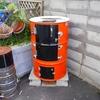 ドラム缶で作ったスモーカーでいろいろ燻製してみた!
