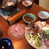 【料理】マハタの鍋と刺身