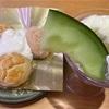 スシローCafe🍨 スコーン&紅茶アイス/メロンにメロメロパフェ
