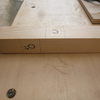 物置台の作成 トリマーとテーブルソーで組み継加工