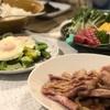クリスマス(肉、魚、野菜、卵、米、ケーキ)