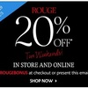 Sephora VIB Sale 2018 -  Fall Sale (20% off)