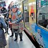 「黒田官兵衛博へ電車でGO JR西、ラッピング列車運行」 三成くんて・・・