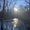 寒さに負けずにジョッギングで、思考の転換