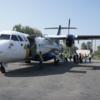 ネパ-ル滞在日記 続編 その19回目  ネパ-ルの交通と荷運び ネパ-ルの国内フライトの二回目