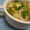 超簡単!!ウマウマ!!ちくわとチンゲン菜のかきたまスープの作り方