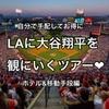 週末弾丸で大谷翔平を観にいく!メジャーリーグ観戦ツアー(ホテル・移動手段編)