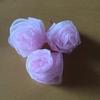 コサージュの作り方(1)バラを作る