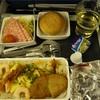 【シンガポール航空&シルクエアー】成田発着エコノミー機内食