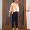 ヘビロテしたい黄色のフレンチリネンシャツ