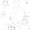 【76】  2/25 「ハム本④-腕の描き方--フカン練習-」
