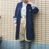 今日の服|5月の雨の日コーデ。アメリカンワークの匂い強めのショーツスタイルにロンドンテイストを少々。