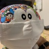 無印良品の繰り返し使えるマスクを。