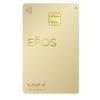 エポスゴールドカードの選べるポイントアップショップのボーナスポイントが加算されました。