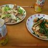 家飲みおつまみご飯。
