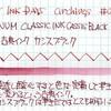 #0163 プラチナ万年筆 古典インク カシスブラック