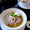 麺LABOひろで、土日限定の琥珀そば@学芸大学