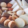 ほんだしと昆布茶で作るおいしいおでん出汁のレシピと、味付けのコツ。