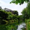 京都へ - vol.15 - 伏見酒蔵めぐり 濠川と酒蔵の風景