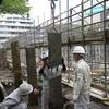 熊本城の長塀修復工事公開