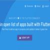 Flutterアプリが一覧でみれるサイト