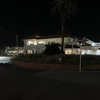 夜の館山駅。