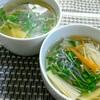 えのきとカイワレのスープ