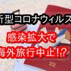 新型肺炎(新型コロナウィルス)で海外旅行が中止に!?全額返金かそれともキャンセル料は支払う?
