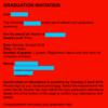 卒業式への道(1)