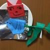 【2歳4歳育児】1月壁面製作②柊鰯【季節を感じる家庭学習】